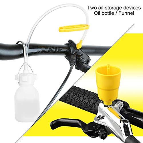 Disc Brake Bleed Kit//Tools for MTB Mountain Bike VGEBY Hydraulic Brake Bleed Kit for Tektro Professional Bicycle Repair Tool