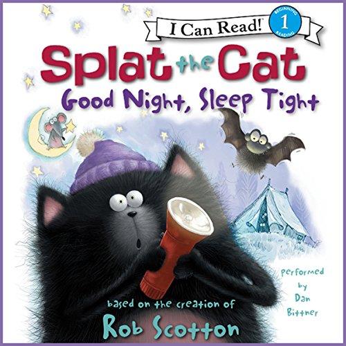 Splat the Cat: Good Night, Sleep Tight audiobook cover art