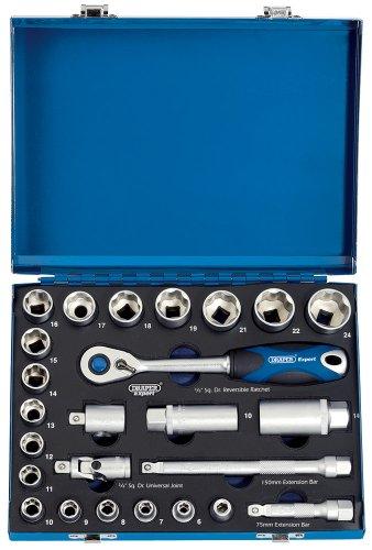 Draper Expert 43646 Kit de serrage à 6 pans dans une mallette en métal 25 pièces