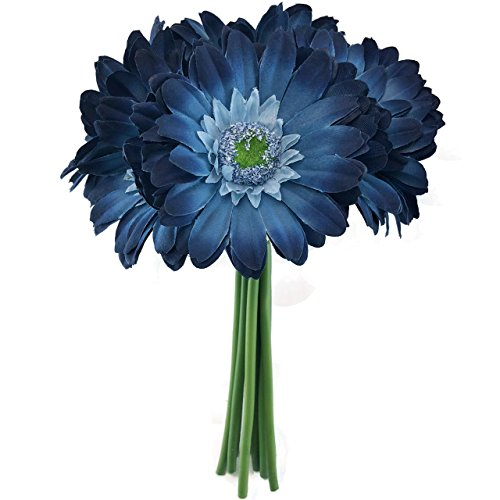 Rose Navy Bouquet (Navy Daisy Bouquets - Large)