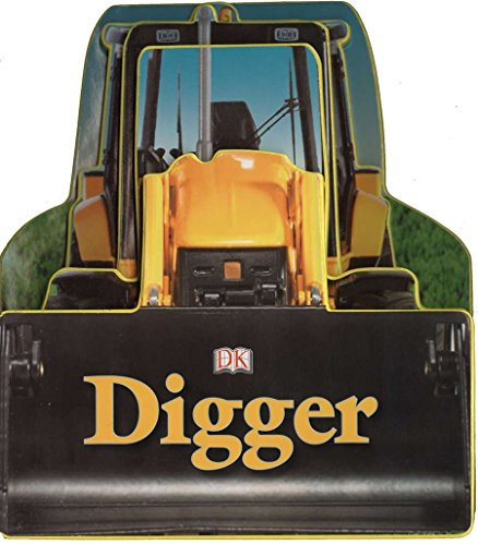 Digger (Shaped Board Books)