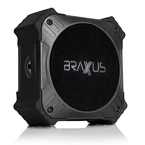 Braxus Solar Portable Bluetooth Speaker (V.2)| Bluetooth Waterproof Speaker IPX6 | Bluetooth Golf Cart Speakers |...