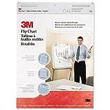 3M 570 Professional Flip Chart Pad, Unruled, 25 x 30, White, 40 Sheets, 2/Carton