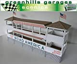 Greenhills Scalextric Slot Car Building Road America Pagoda Kit 1:32 Scale MACC348