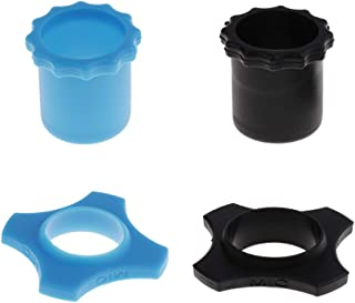 Perfeclan Set Of 2 Microphone Protection Rings With Blue And