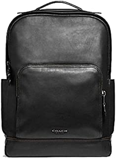 Coach Leather Graham Backpack Tote Bag - #F37599