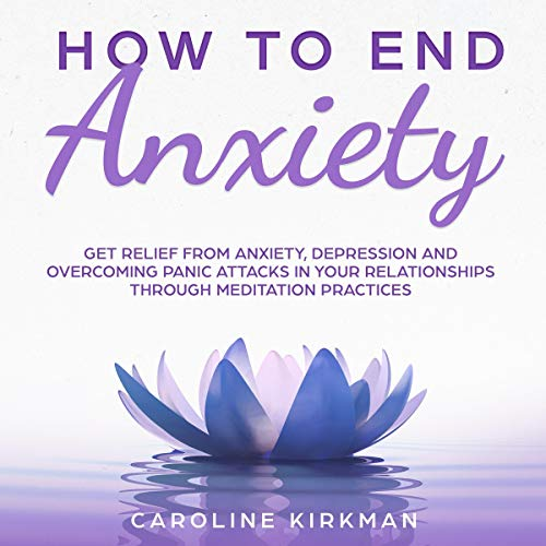 How to End Anxiety audiobook cover art