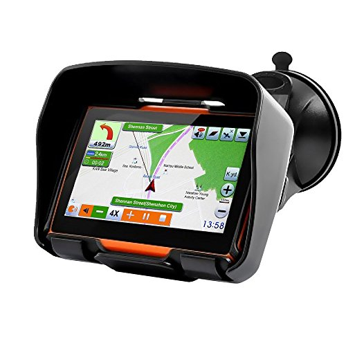 Koolertron 4.3 Inch All Terrain Waterproof Motorcycle GPS...