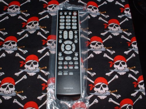 Toshiba TV/VCR Combo Remote Control VC-SB1 Supplied with models: MV13Q41 MV20Q41