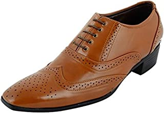BXXY Men's Height Increasing Synthetic Formal Shoes
