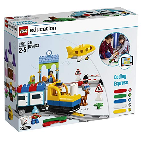 LEGO Education Duplo Coding Express 45025, Fun STEM Educational Toy, Introduction to Steam Learning for Girls & Boys Ages 2 & Up