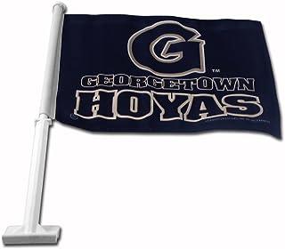 NCAA Georgetown Hoyas Car Flag