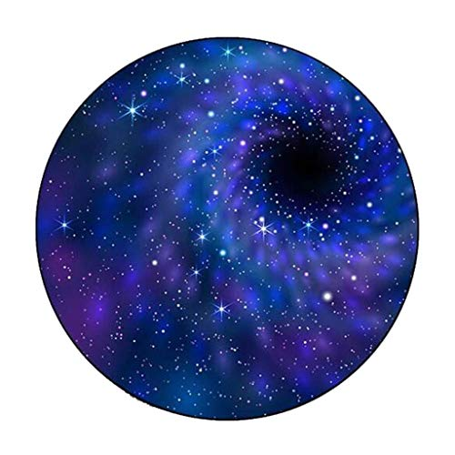 Carpets Carpet Mats Retro Round Carpet Starry Sky Earth Living Room Bedroom Tables And Chairs Non-slip Mats Bedside Blankets (Color : A, Size : 160cm)