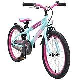 BIKESTAR Bicicleta Infantil para niños y niñas a Partir de 6 años | Bici de montaña 20 Pulgadas con Frenos | 20' Edición Mountainbike Turquesa
