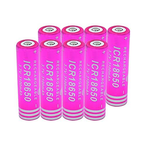 WSXYD 3.7v 2500mah Batería De Alta Descarga 35a 18650 He4, Batería Recargable DIY Linie para Linterna 10PCS