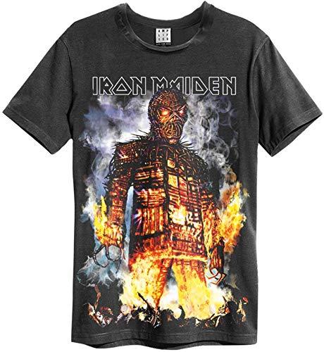Amplified Iron Maiden The Wicker Man T-shirt