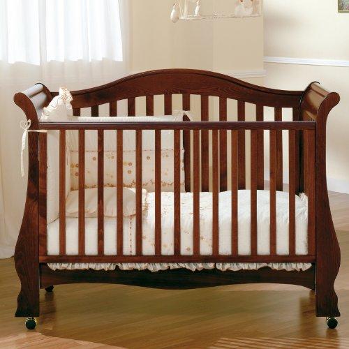 Pali Kinderbett im Retro Design mit Lattenrost und Bettkasten Renee Dark Walnut