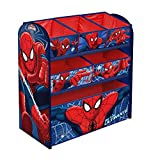 Global Industry 42212-S Meuble de Rangement Spiderman, Bleu/Rouge, 62 x 30 x 63 cm