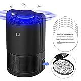 DOUHE Lámpara Antimosquitos, USB Mata Mosquitos Electrico, UV LED Insectos Trampa, Eficaz contra Moscas, Niños Seguros, No Tóxicos, Sin Radiación