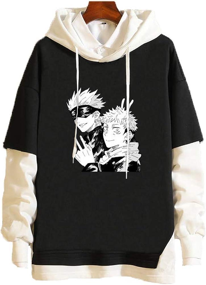 Meelanz Mesa Mall Hoodie Japanese Anime Pullover Sweatshirt Superior Sleeve Long fo