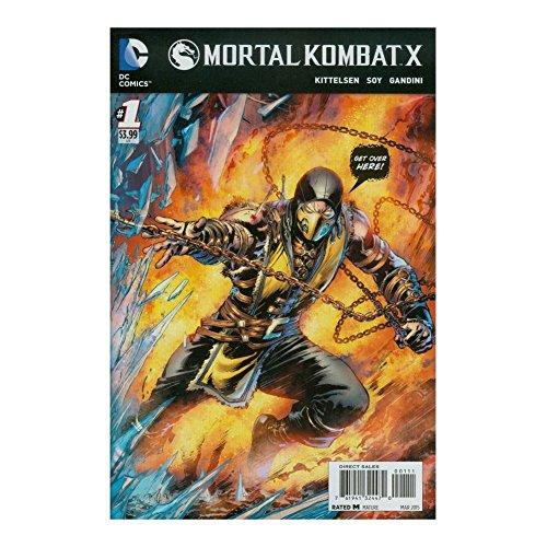 Mortal Kombat X #1 Cover A Scorpion