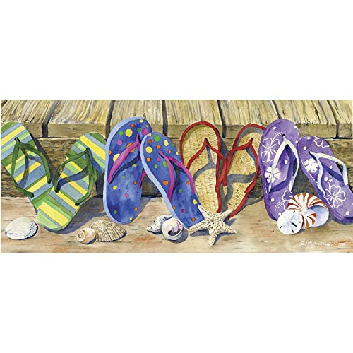 Price comparison product image Evergreen Flag Flip Flops Sassafras Switch Mat - 22 x 1 x 10 Inches