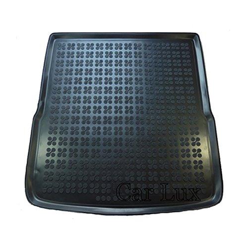 Car Lux AR00653 - Alfombra Cubeta Protector Maletero Goma Premium Passat Variant