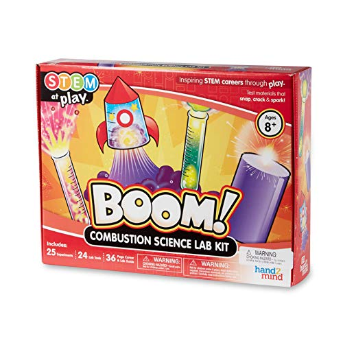 hand2mind BOOM! Combustion Chemistry Science Lab Kit For...