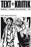 Comics, Mangas, Graphic Novels (TEXT+KRITIK) - Heinz Ludwig Arnold