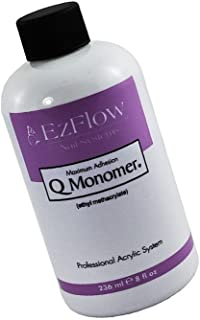 Q Monomer Acrylic Nail Liquid strengthen and protect nails from the knocks, shocks, chips and tough breaks : size 8 fl. oz