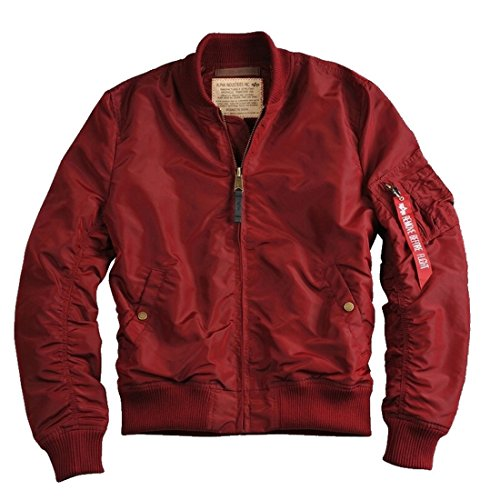 ALPHA INDUSTRIES - MA-1 TT Bomberjacke Burgundy (S)