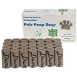 Hundekotbeutel, umweltfreundlich und biologisch abbaubar, auslaufsicher, extra groß, dick und stark, 420 Stück