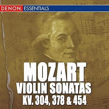Mozart: Sonatas For Violin & Piano