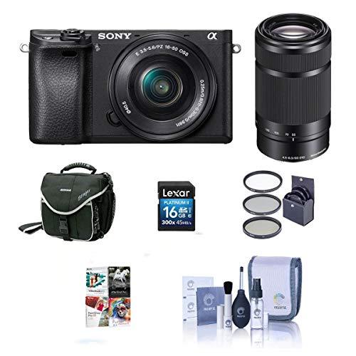 Sony Alpha A6000 Mirrorless Digital Camera with...