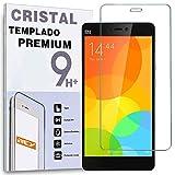 REY Protector de Pantalla para XIAOMI MI 4C Mi4c / Mi 4i Mi4i Cristal Vidrio Templado Premium
