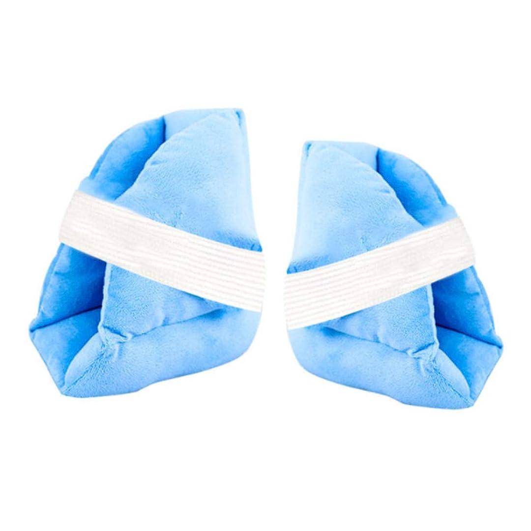 株式シャトルデッドロック柔らかく快適なヒールプロテクター枕、ヒールフロートヒールプロテクター、Pressure瘡予防のためのアキレス腱プロテクター、高齢者の足補正カバー,b