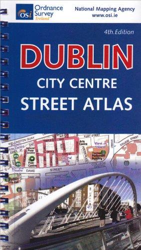 Dublin City Centre Atlas Pocket Guide (Irish Maps, Atlases and Guides)