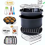 Ptsaying Air Fryer Accessories XL 15 sets, For Phillips power air fryers dash oven deep Fryer Accessories...