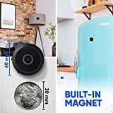 2020 LATEST SMART MODEL: Despite the mini size, our wireless WIFI camera features impressive 150° Wide Angle, Live Video at 30 Frames per Second, No-Glow IR Night Vision, Motion Activated Push Alerts, Recording while Charging, Remote Playback/Snapsho...