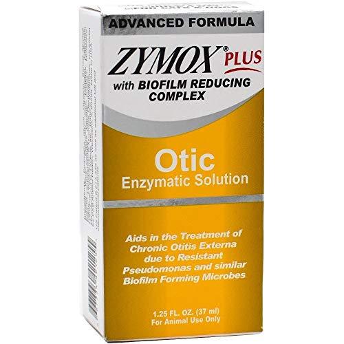 Zymox Plus Otic Enzymatic Solution with Biofilm Reducing Complex (1.25 oz)
