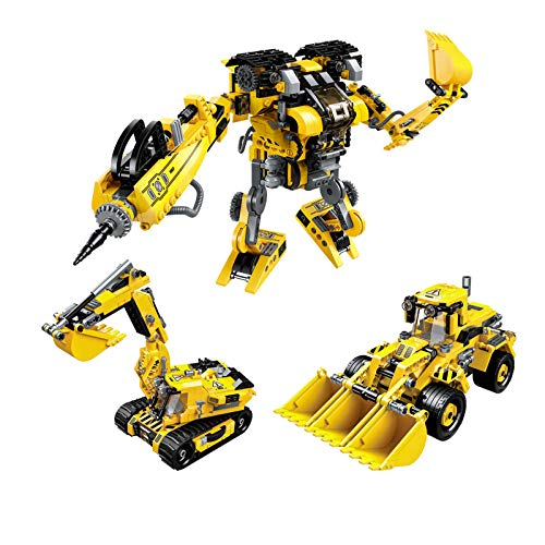 Assembled building blocks and inserted children's toys girls birthday giftsideas unlimited series-Construction machinery