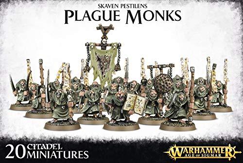 Warhammer - Age Of Sigmar Skaven Pestilens Plague Monks - 90-12