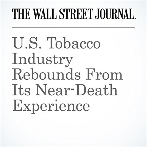 U.S. Tobacco Industry Rebounds From Its Near-Death Experience copertina