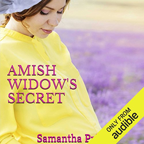 Amish Widow's Secret audiobook cover art