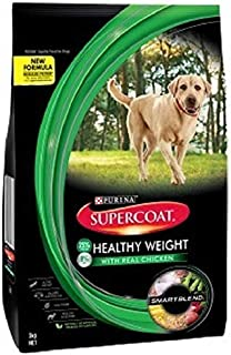 Supercoat Healthy Weight Real Chicken Dog Food 3 kg 1 Pack Medium