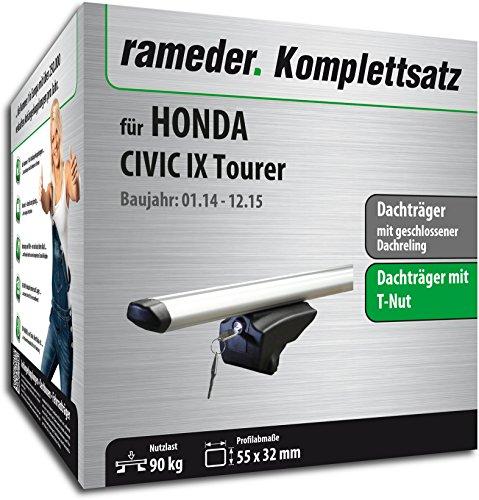 Rameder Komplettsatz, Dachträger Pick-Up für Honda Civic IX Tourer (111287-11755-55)