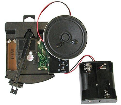 UTS Funk Pendeluhrwerk F 700 Schaft 11,3 mm + Westminster BimBam