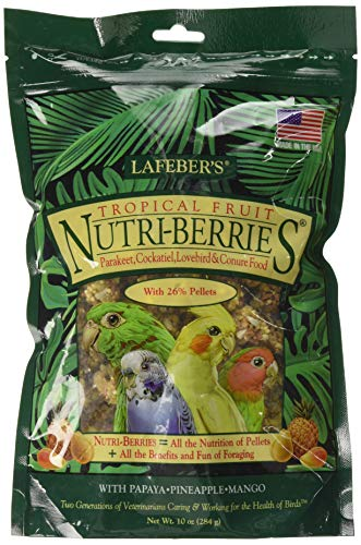 Lafeber Tropical Nutriberries per Pappagalli - 1360 Gr