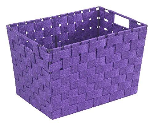 Wenko 19885100, Cestino per sala da bagno, M, colore: Viola