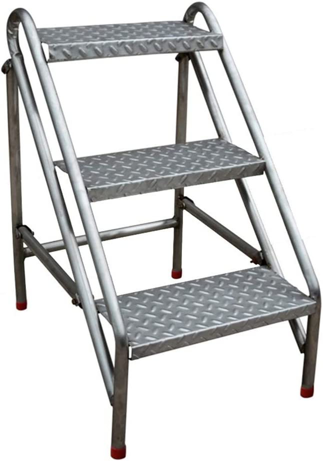 Zhangmeiren Stainless Steel Folding Stool Stair Challenge the lowest price of Japan Multi-Fun excellence Ladder